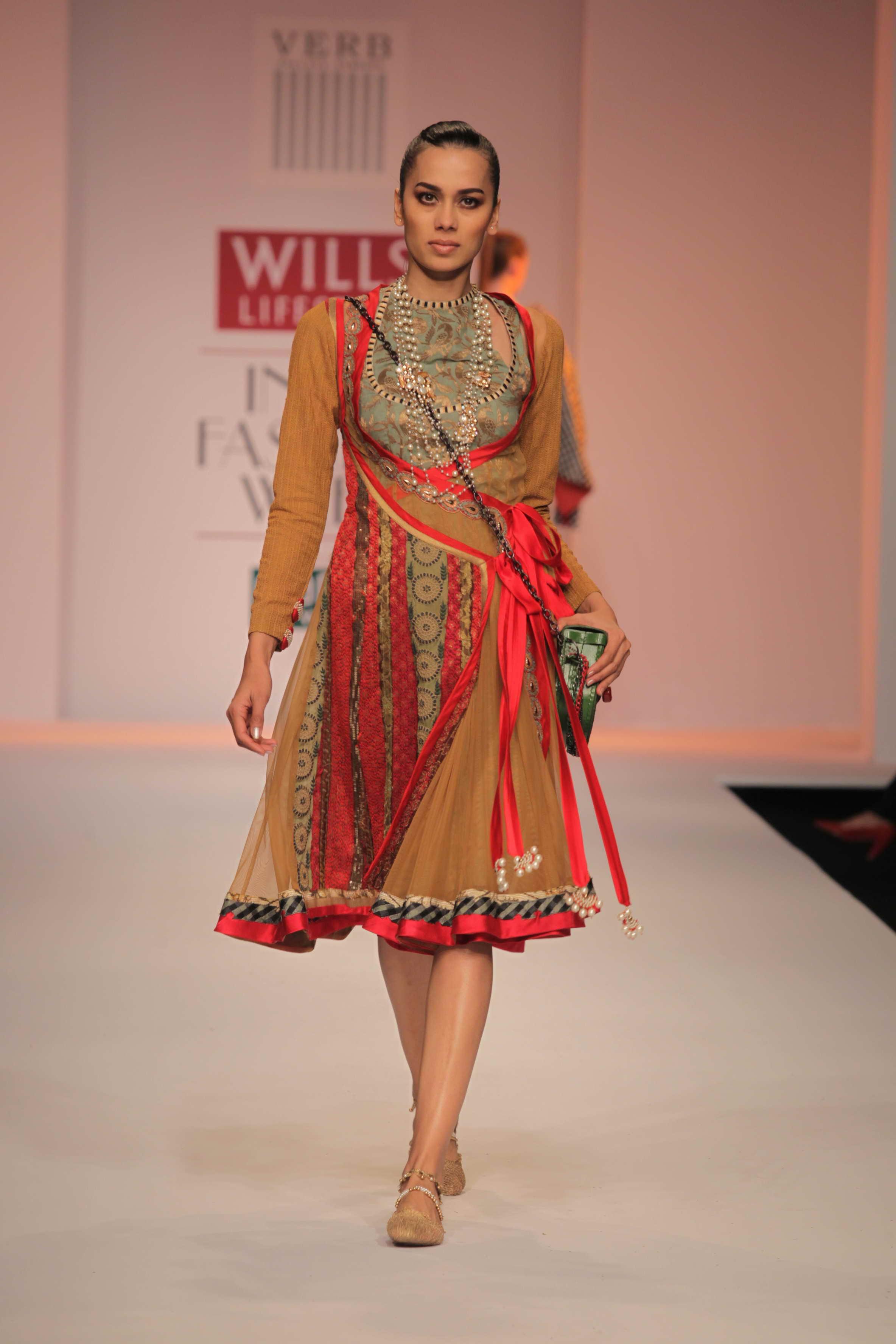 Style Trends at Wills Lifestyle India Fashion Week WLIFW ... Sabyasachi Kurtis