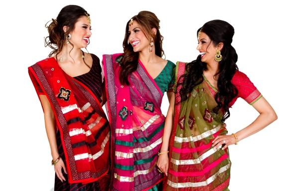 Modern Bandhani saree