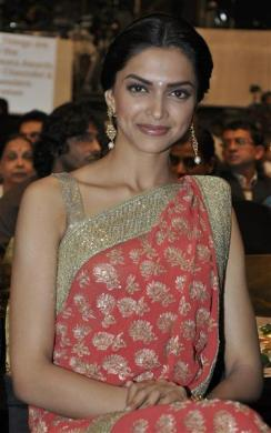 Bollywood actress Deepika Padukone poses for a picture in Mumbai