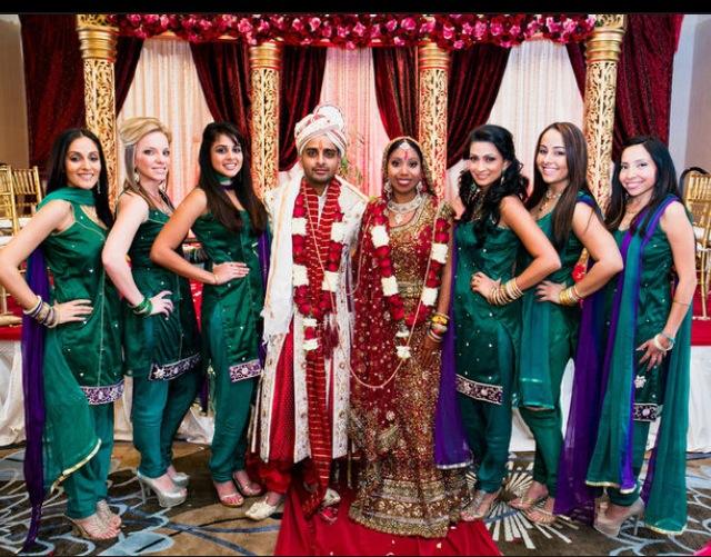 Indian Bridesmaids Sarees