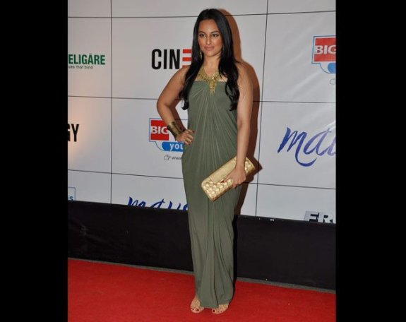 dull-green-gown-sonakshi-fashion-2011
