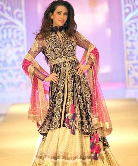 Karishma Kapoor Manish Malhotra Bridal Collection Maxim Indo